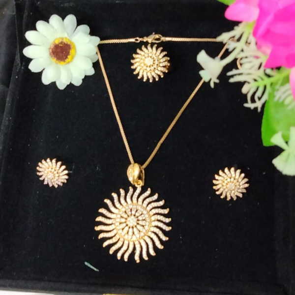 Sunflower Style Jewelry Set
